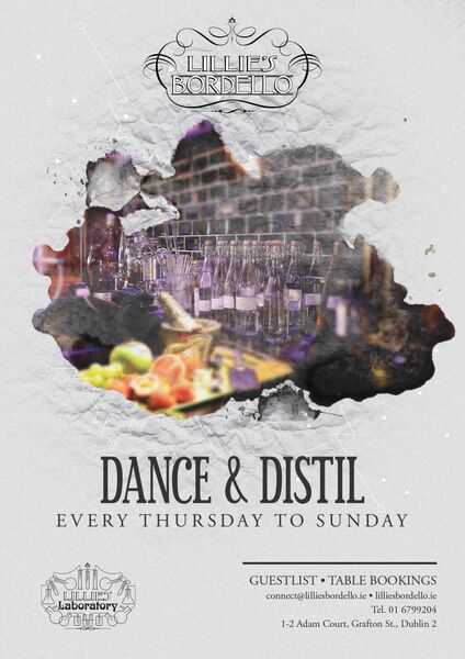 Dance and Distil at Lillies Dublin