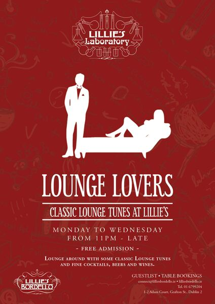 Lounge Lovers at Lillie's