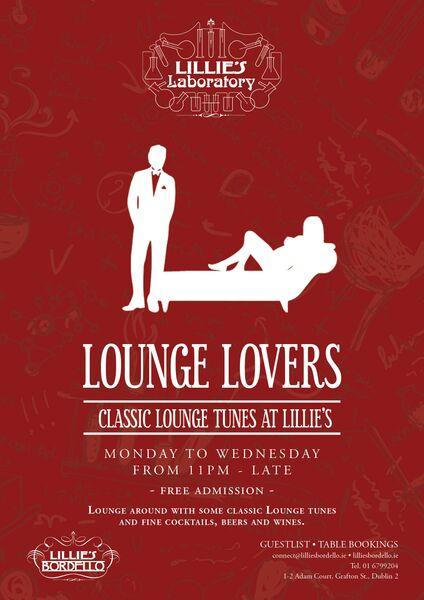 Lounge Music, Lillie's, Dublin, Midweek, Dublin Clubs