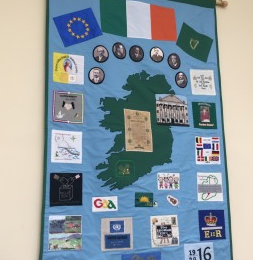 Carlow ICA 1916 Wall Hanging