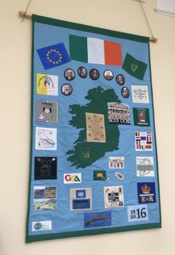 Carlow Federation ICA 1916 – 2016 Commemorative Wall Hanging