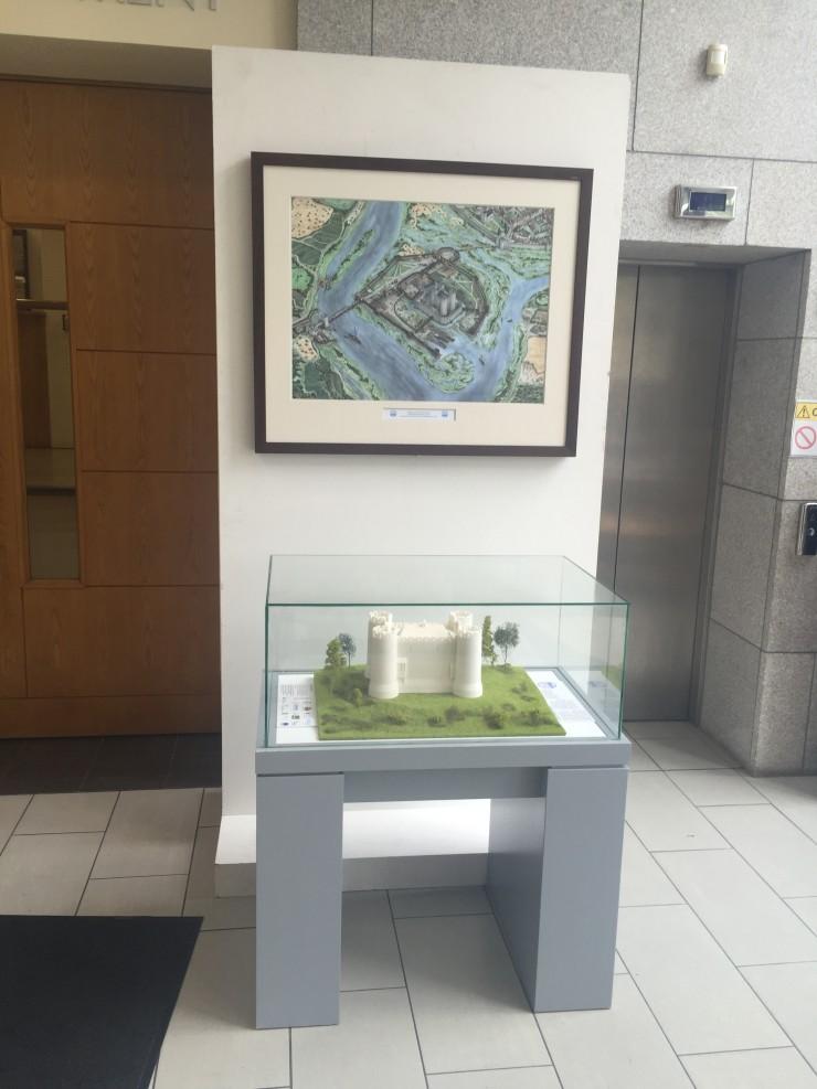 Carlow Castle Display