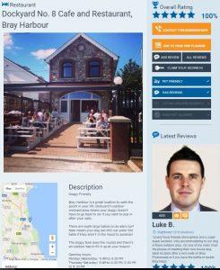 Dockyard No. 8 Restaurant Cafe Bray